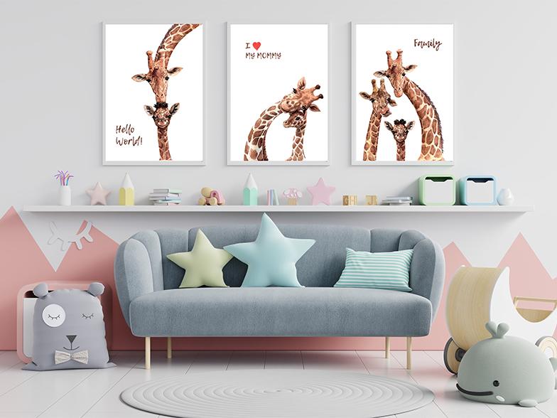 Rodzina żyraf