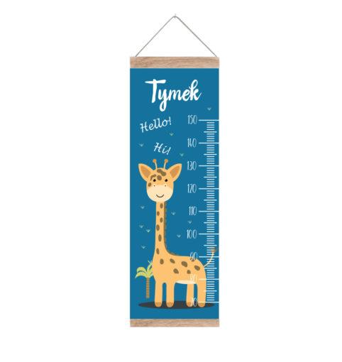 Miarka z żyrafą