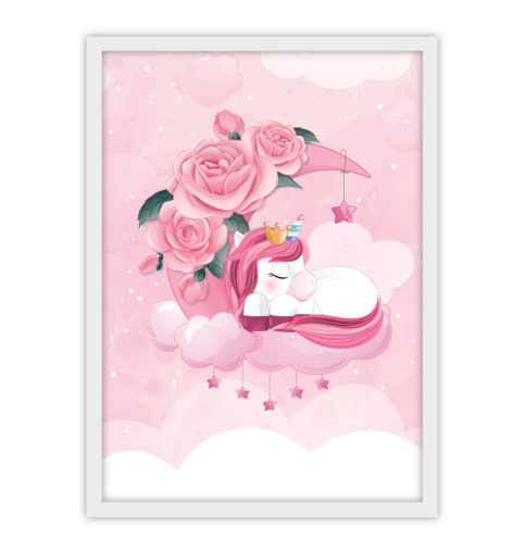 Różowy jednorożec