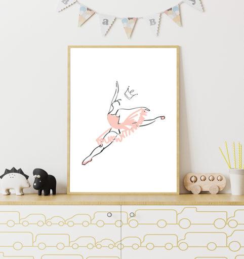Tańcząca baletnica