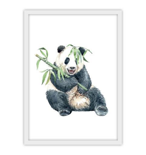 Wesoła panda