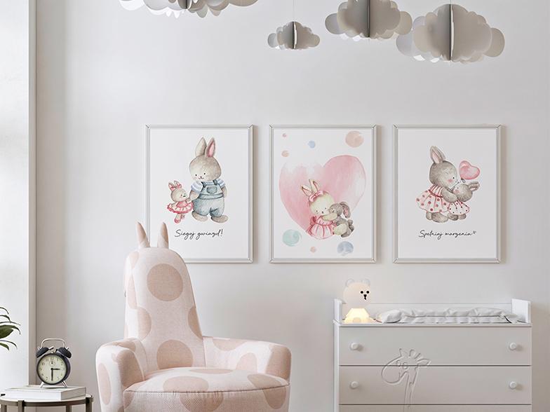 Rodzina króliczków