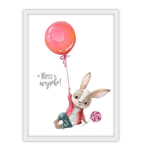Zajączek z balonem